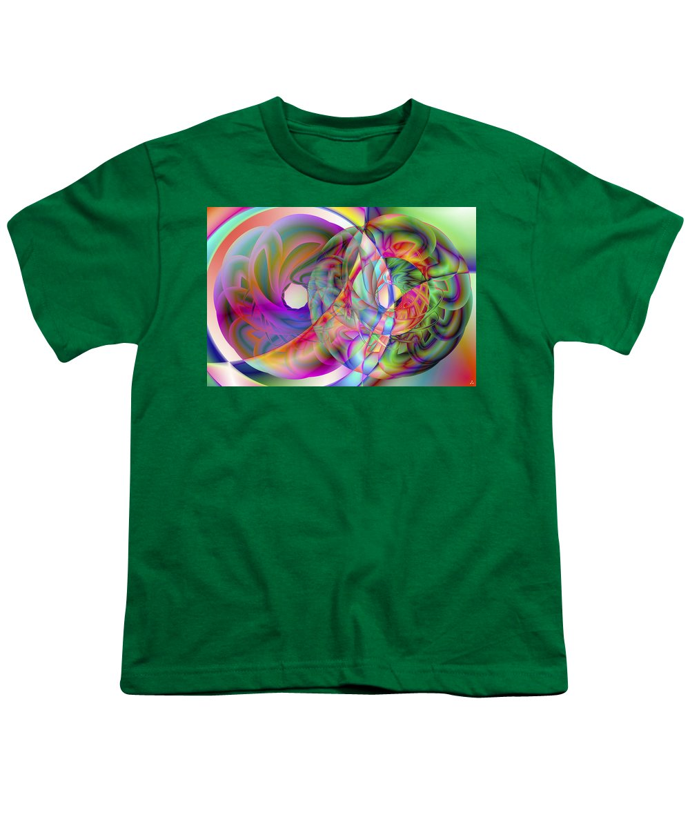 Crazy Youth T-Shirt featuring the digital art Vision 41 by Jacques Raffin