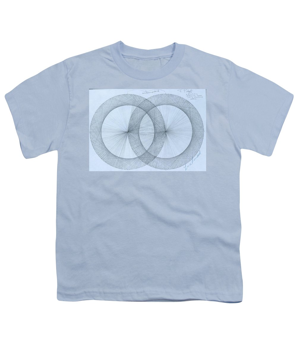 Fractal Youth T-Shirt featuring the drawing Magnetism by Jason Padgett