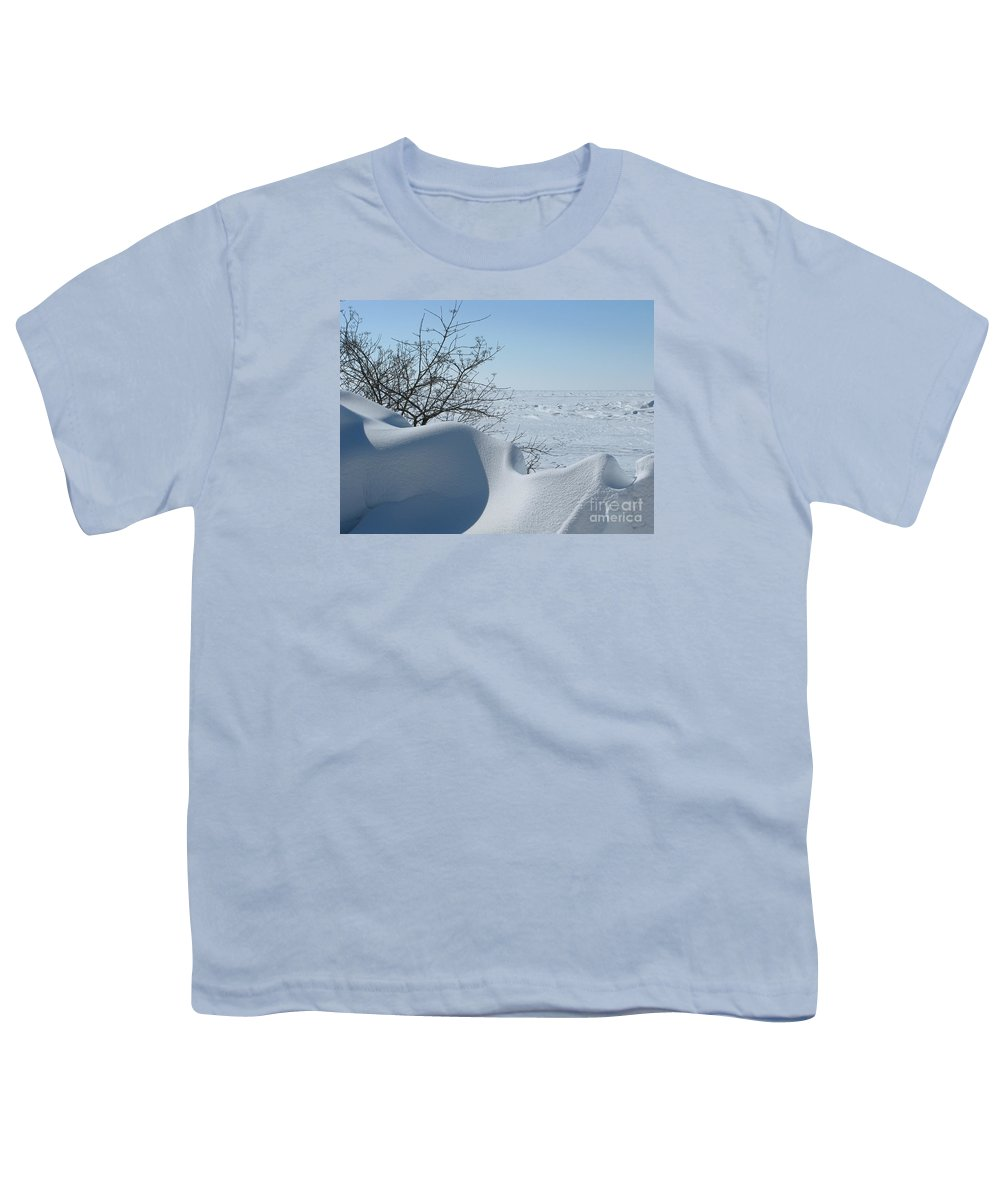Winter Youth T-Shirt featuring the photograph A Gentle Beauty by Ann Horn