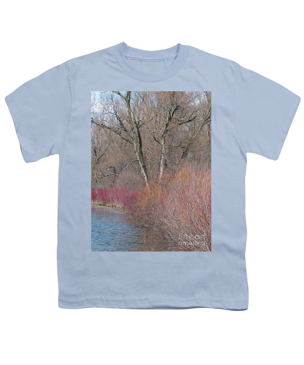 Spring Youth T-Shirt featuring the photograph Hint Of Spring by Ann Horn