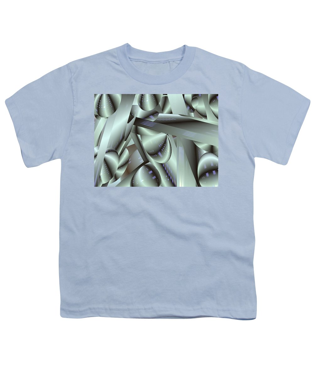 Japan-a-mation Youth T-Shirt featuring the painting Awe Kew Nice by Scott Piers