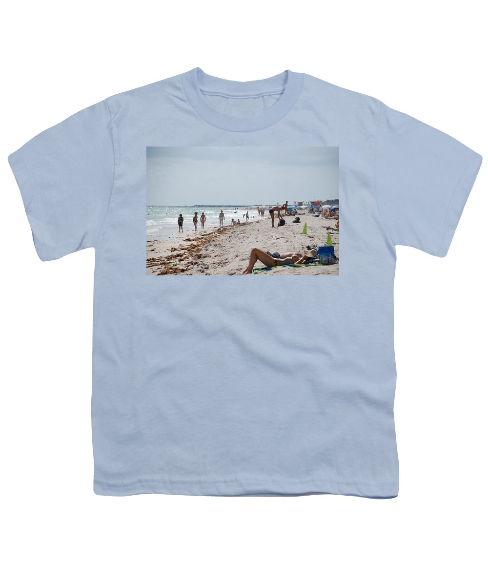 Nude Youth T-Shirt featuring the photograph A Day At Paradise Beach by Rob Hans