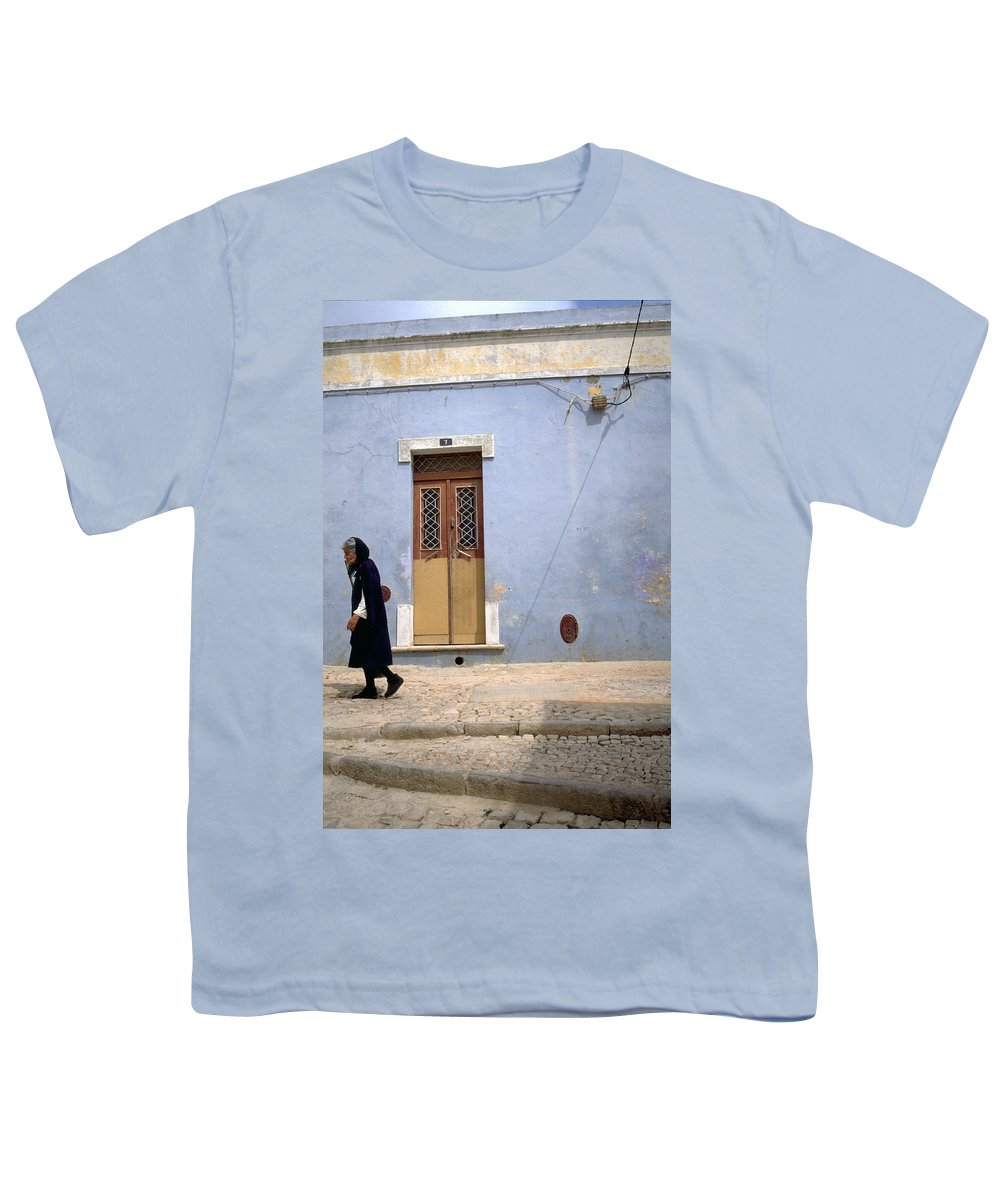 Algarve Youth T-Shirt featuring the photograph Algarve II by Flavia Westerwelle