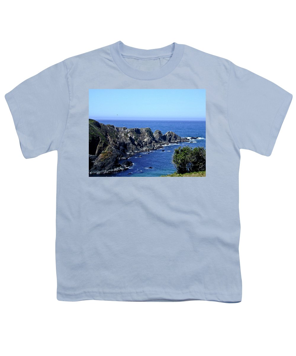 Arena Youth T-Shirt featuring the photograph Arena Point California by Douglas Barnett