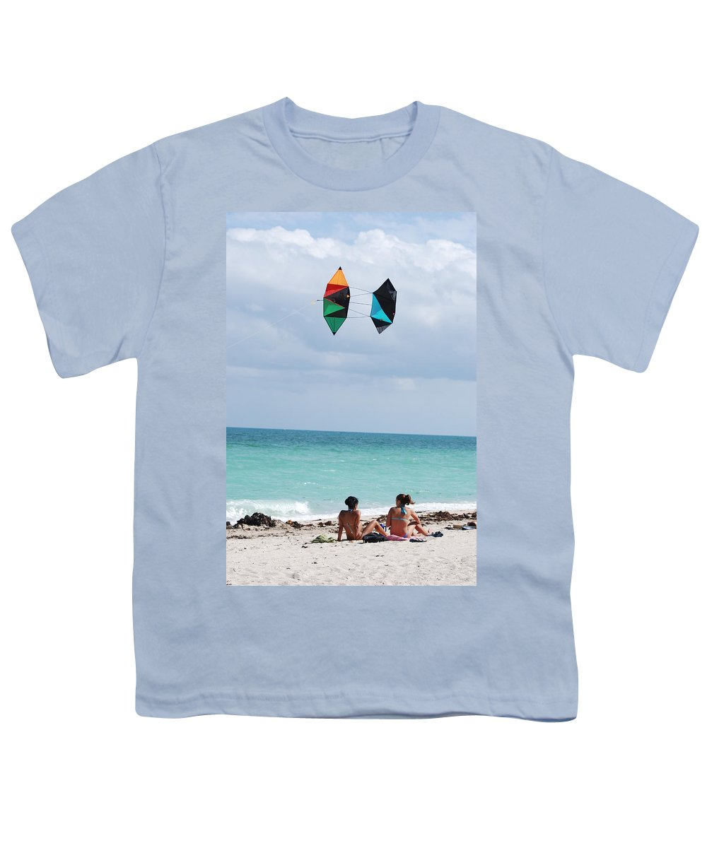 Sea Scape Youth T-Shirt featuring the photograph Close Encounters by Rob Hans
