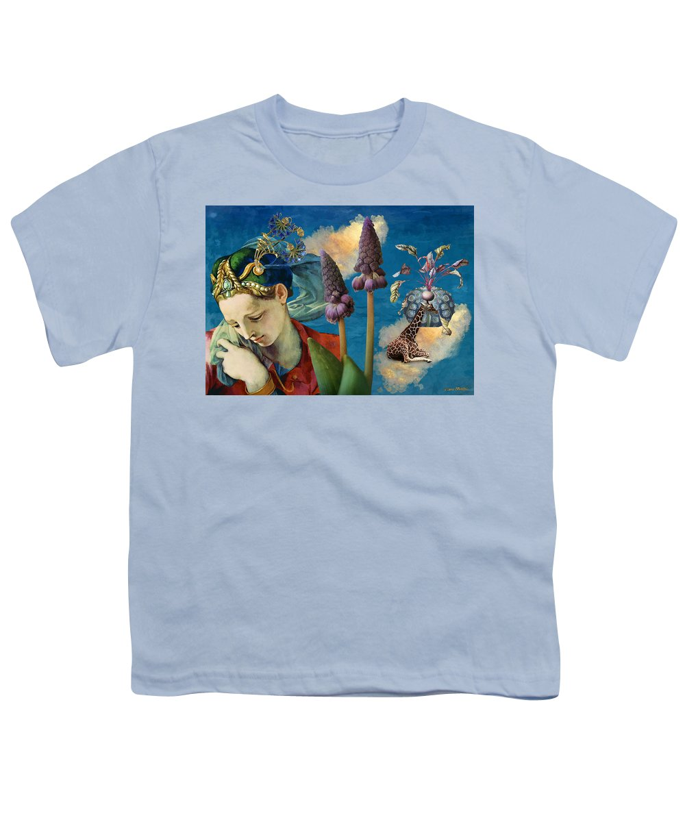 Dreamscape Youth T-Shirt featuring the digital art Day Dreams by Laura Botsford