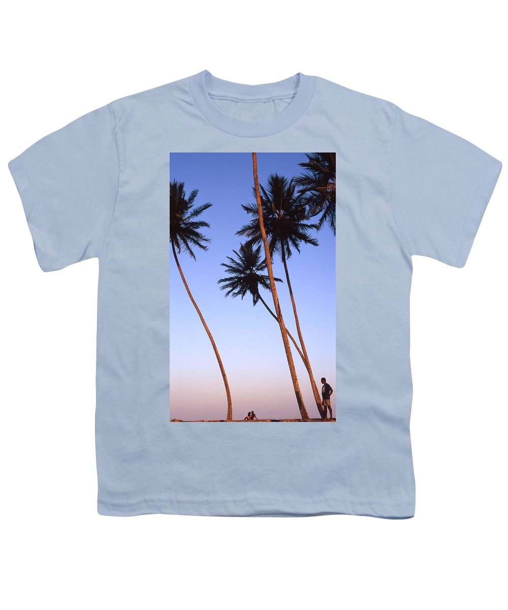 Bahia Youth T-Shirt featuring the photograph Dusk In Morro by Patrick Klauss