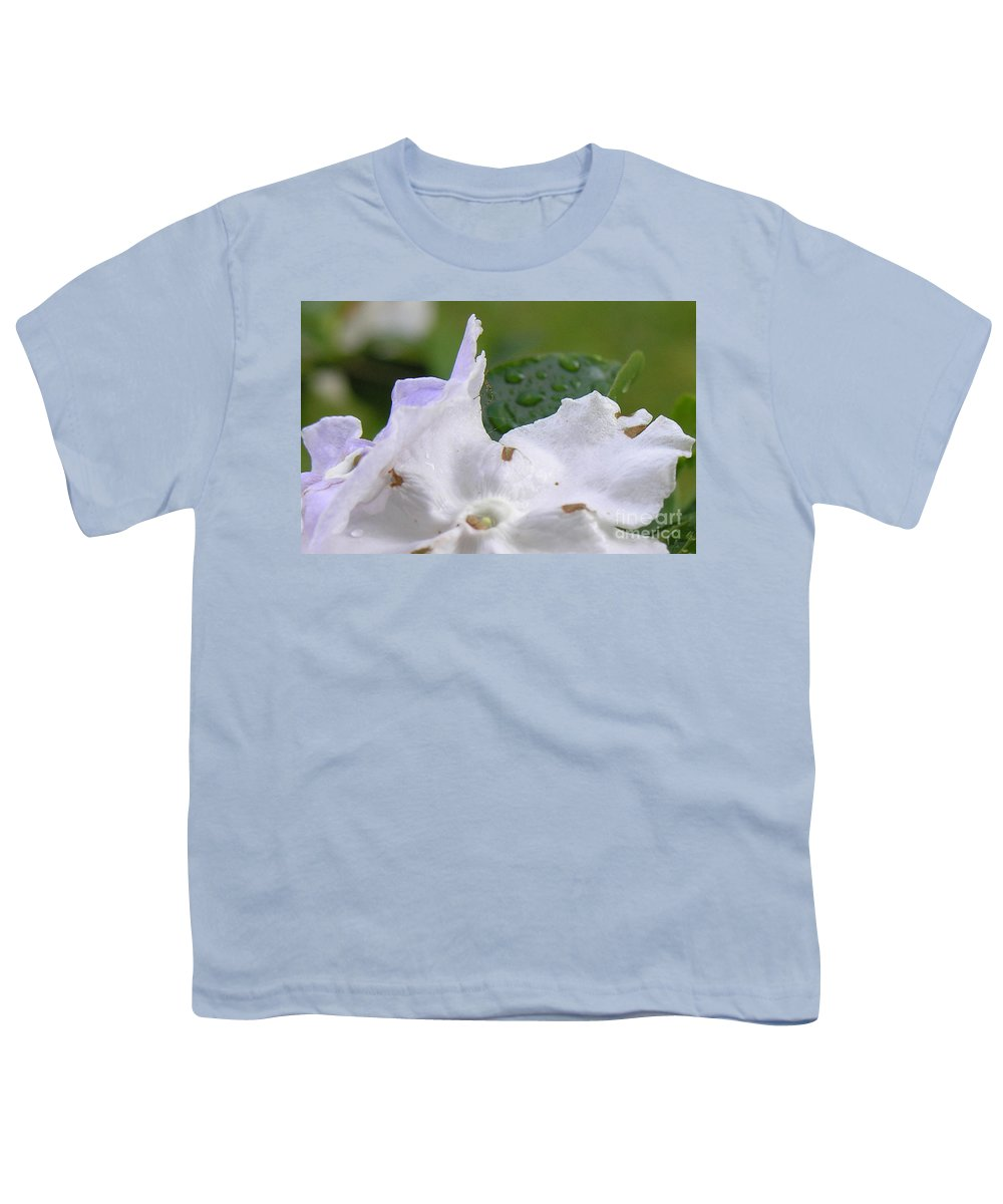 Flower Youth T-Shirt featuring the photograph Easter Surprise by Richard Rizzo