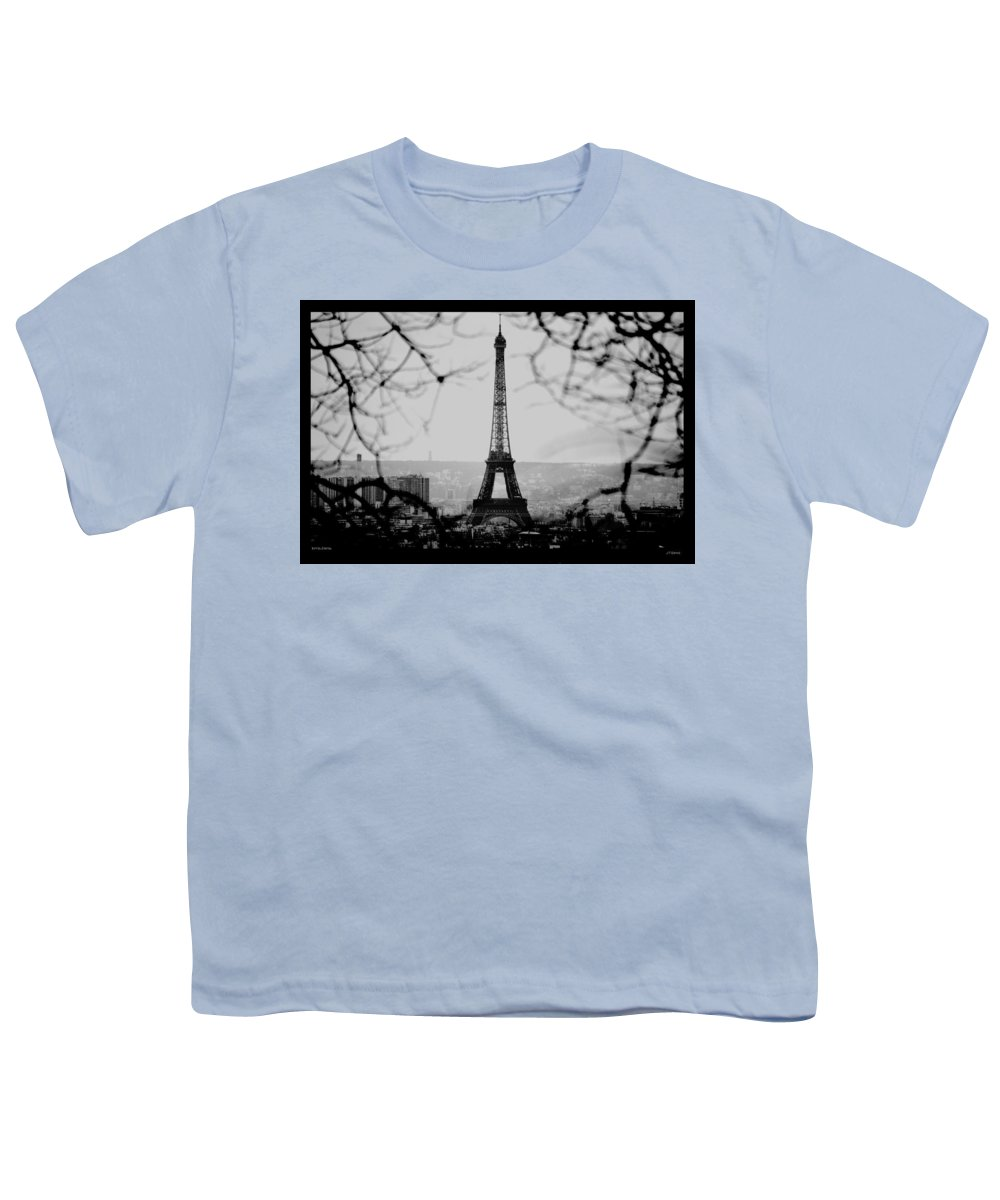 Eiffel Youth T-Shirt featuring the photograph Eiffel Eyeful by J Todd