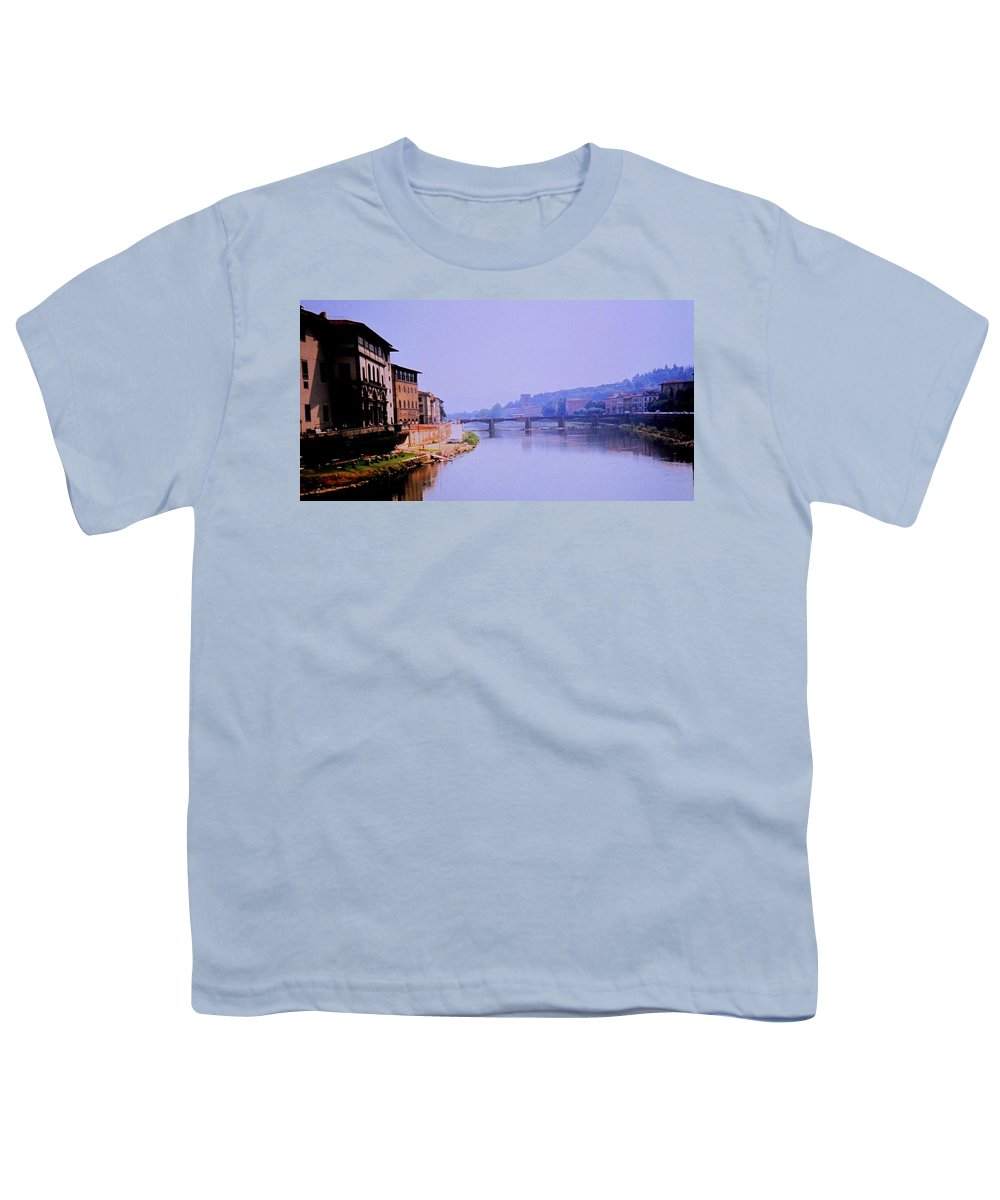 Florence Youth T-Shirt featuring the photograph Florence by Ian MacDonald
