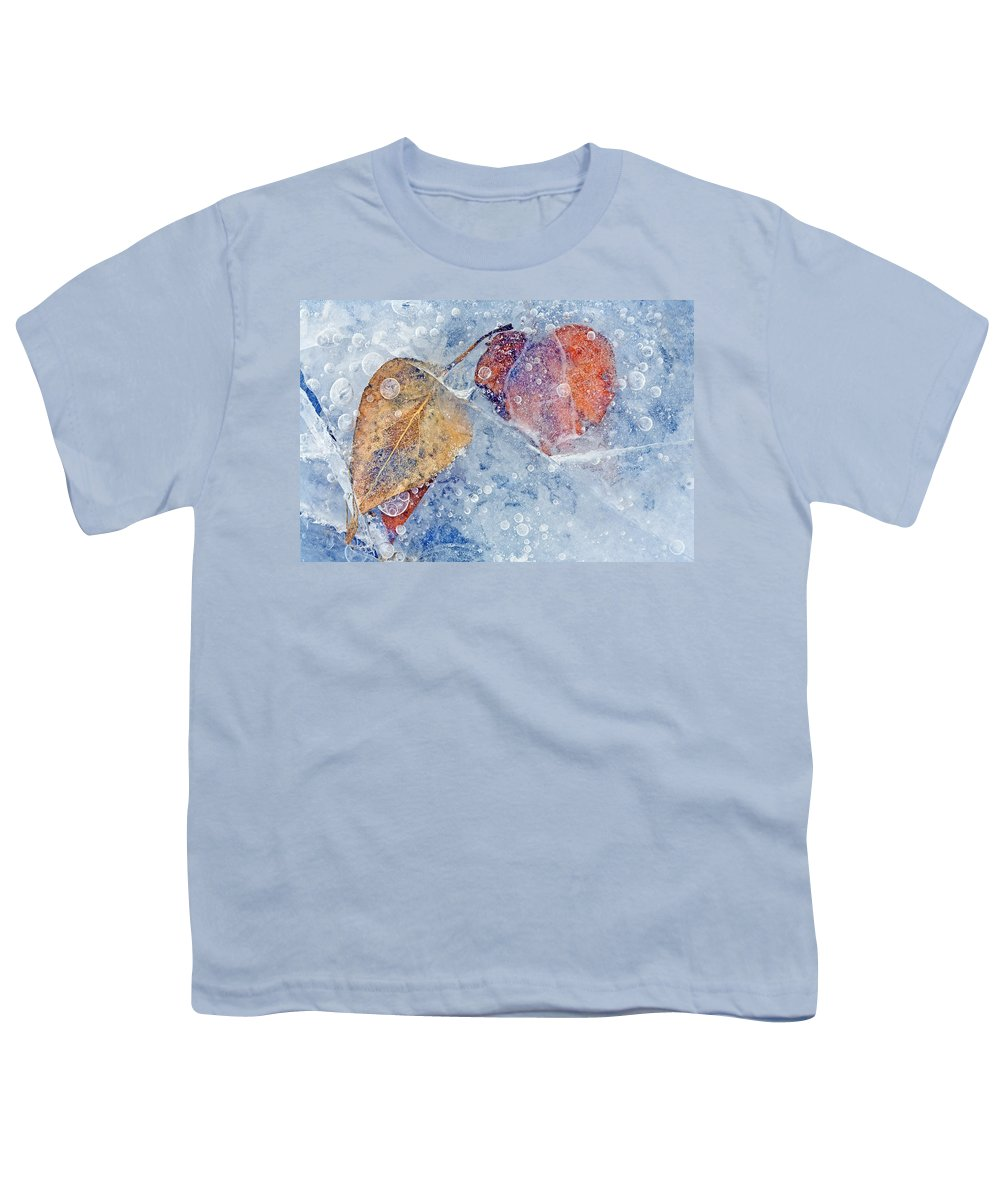 Ice Youth T-Shirt featuring the photograph Fractured Seasons by Mike Dawson