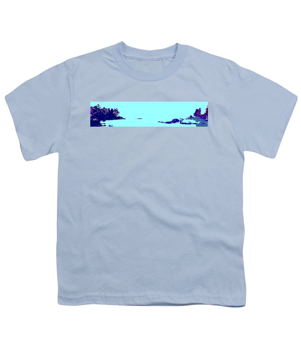 Youth T-Shirt featuring the photograph Georgian Bay Blue by Ian MacDonald