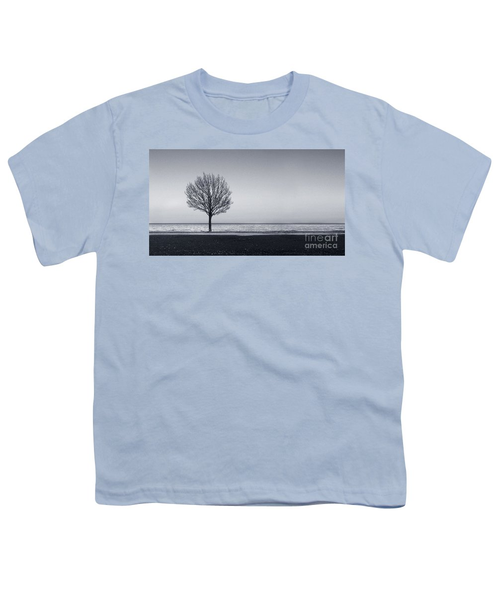 Tree Youth T-Shirt featuring the photograph I Didnt Hear You Leaving by Dana DiPasquale