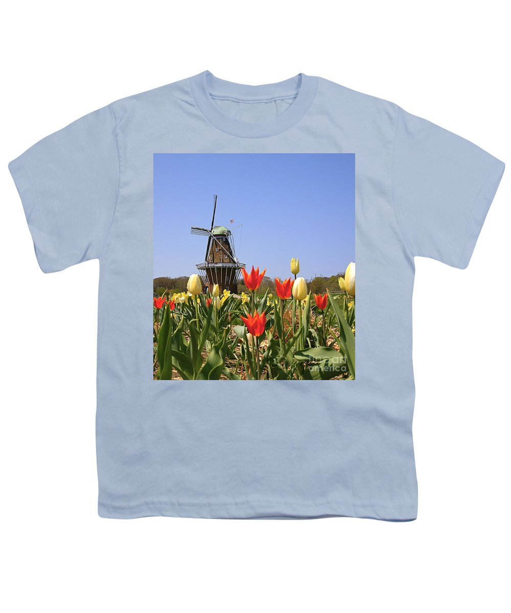 Tulips Youth T-Shirt featuring the photograph Its Tulip Time by Robert Pearson