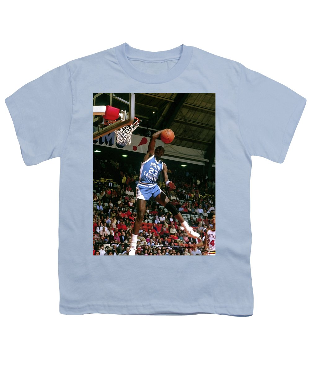 best website 98c7b e33c4 Michael Jordan North Carolina Youth T-Shirt