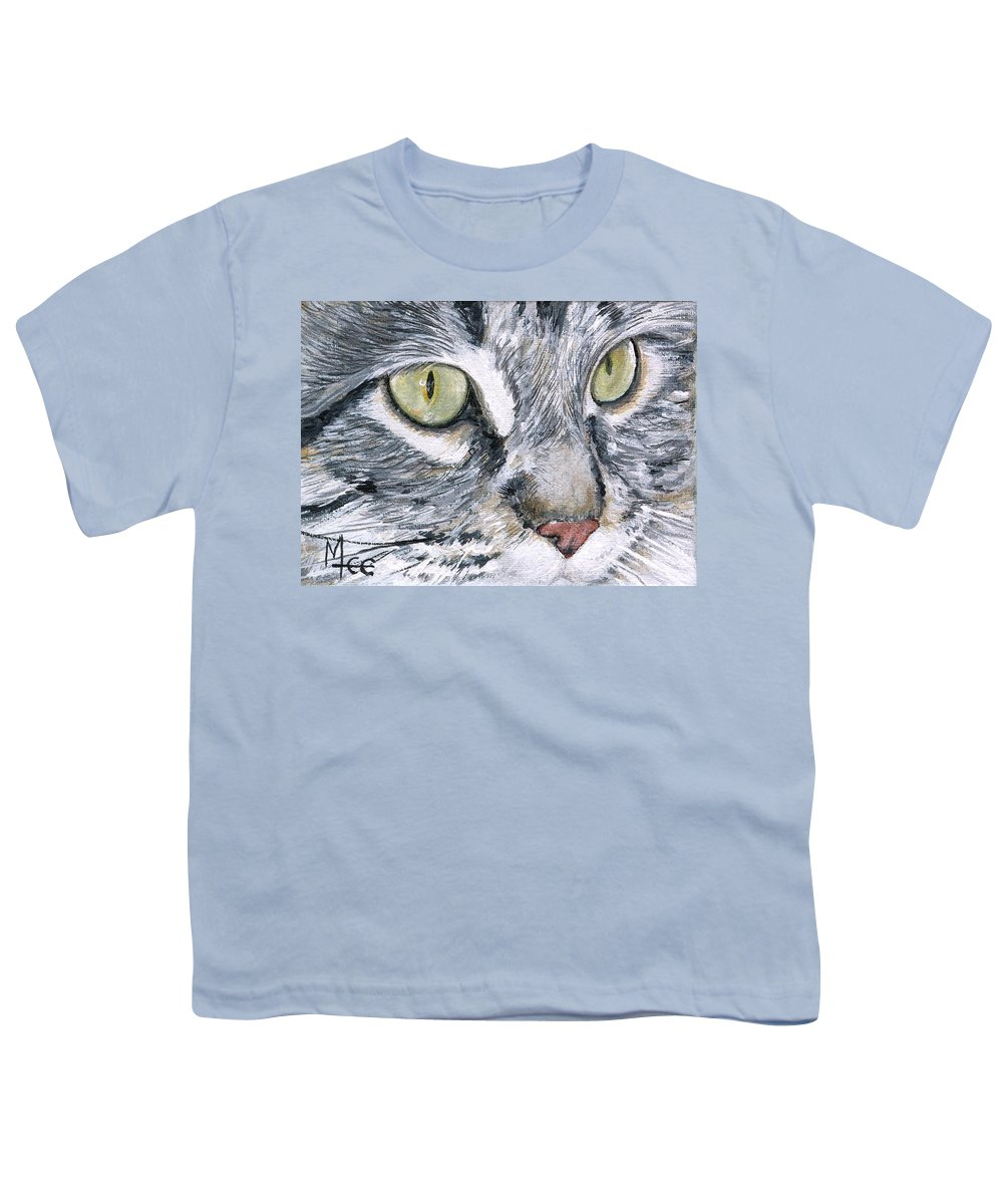 Charity Youth T-Shirt featuring the painting Noel by Mary-Lee Sanders