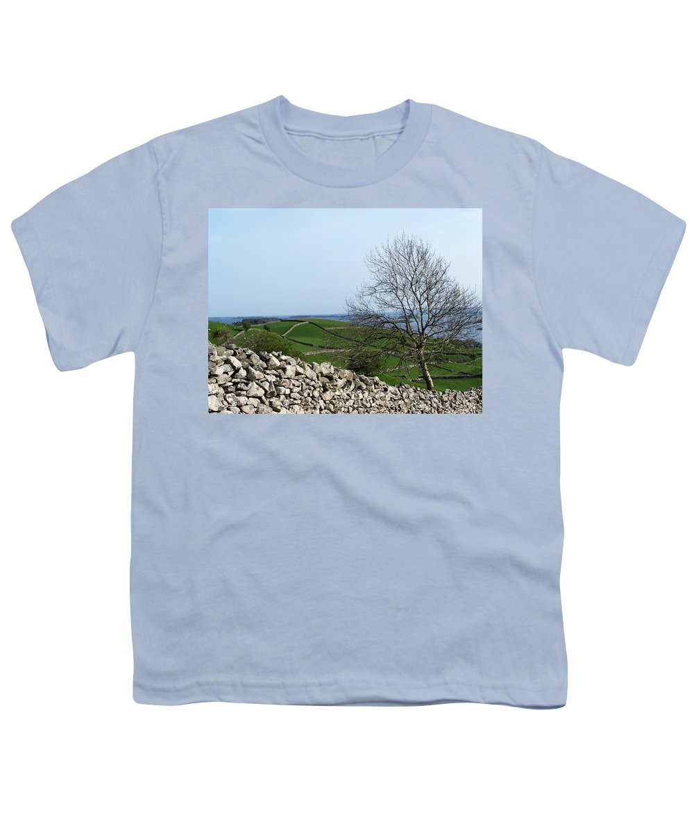 Irish Youth T-Shirt featuring the photograph Patchwork Quilt Lough Corrib Maam Ireland by Teresa Mucha