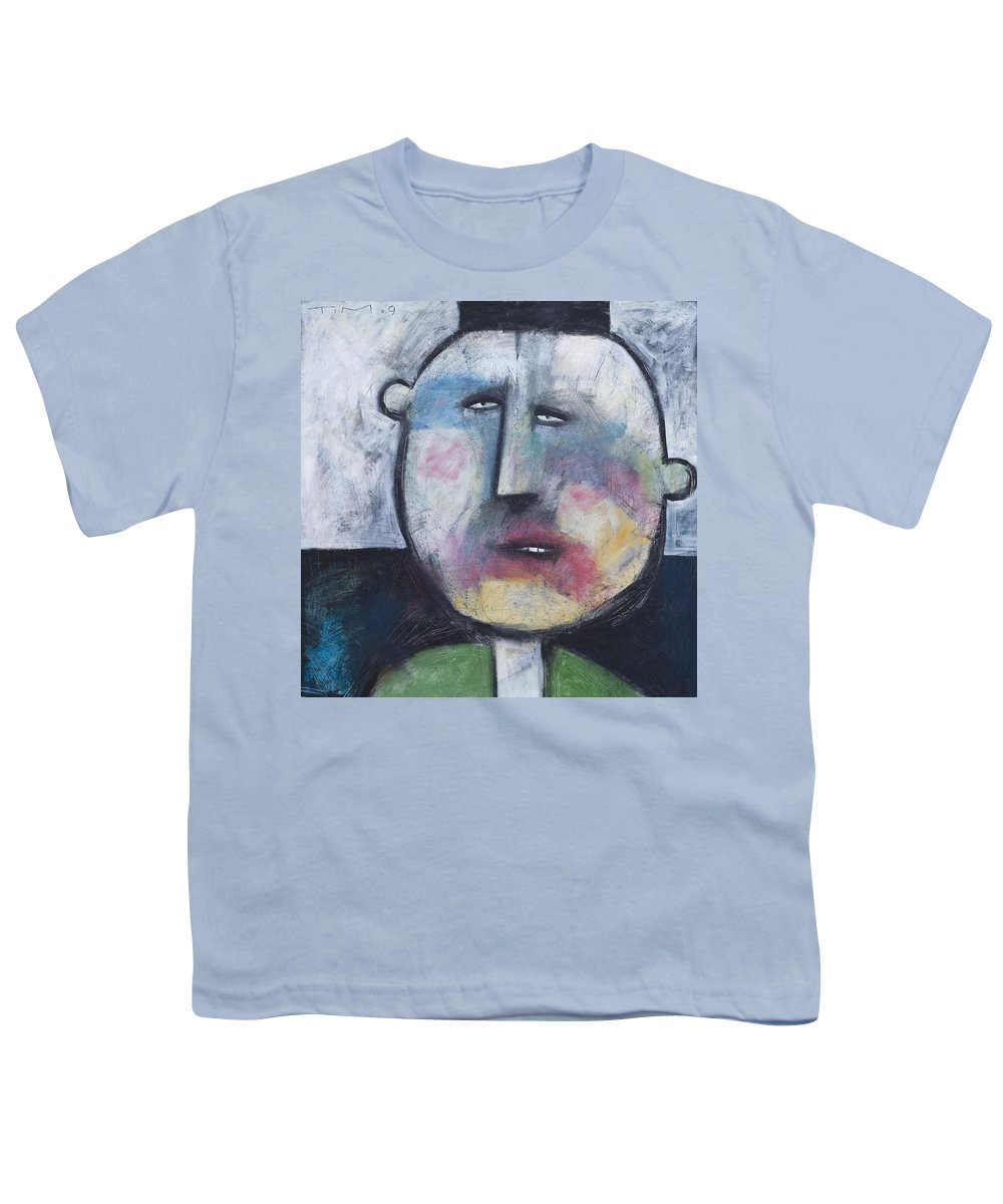 Funny Youth T-Shirt featuring the painting Pillbox by Tim Nyberg