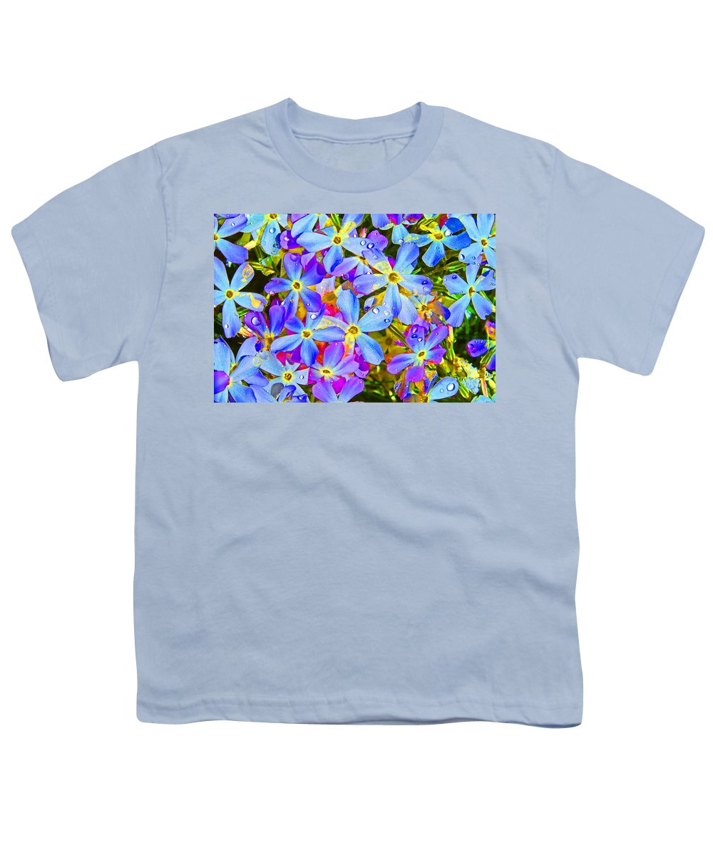Wildflower Youth T-Shirt featuring the photograph Pincushion Flower by Heather Coen