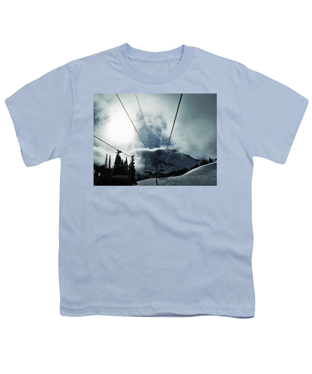 Landscape Youth T-Shirt featuring the photograph Rise To The Sun by Michael Cuozzo