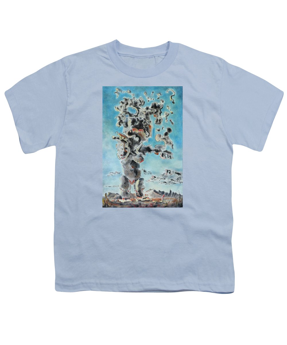 Surreal Youth T-Shirt featuring the painting Spectre by Dave Martsolf