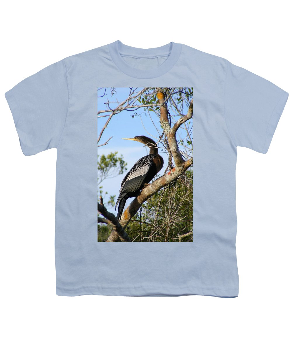 Bird Youth T-Shirt featuring the photograph Strike A Pose by Ed Smith