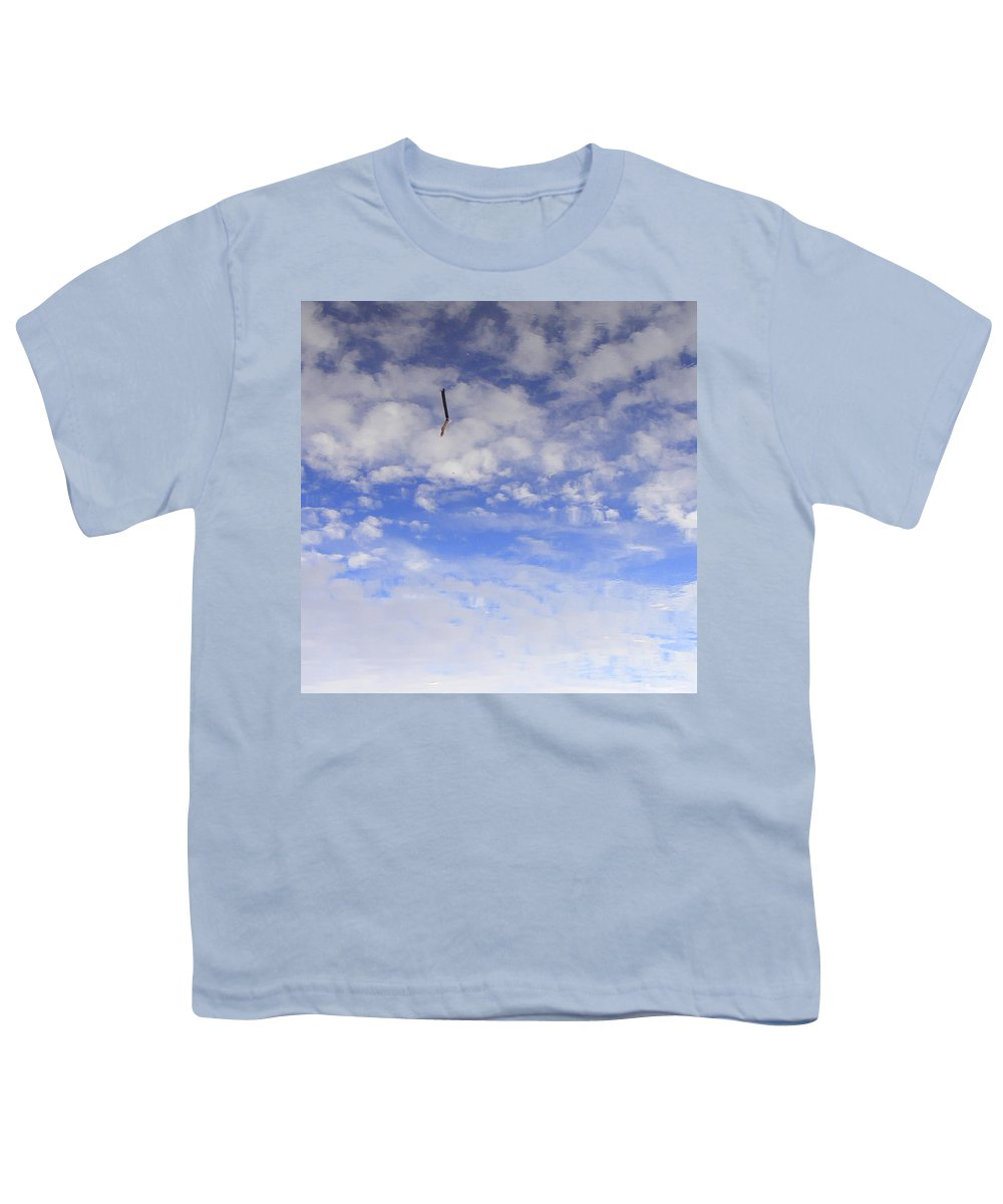 Sky Youth T-Shirt featuring the photograph Stuck In The Clouds by Ed Smith