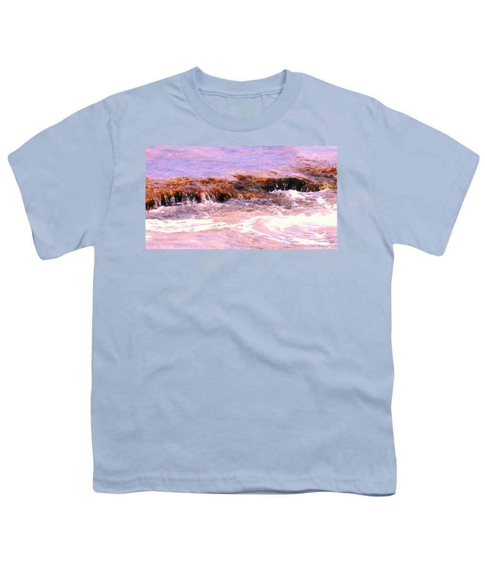 Tide Youth T-Shirt featuring the photograph Tidal Pool by Ian MacDonald