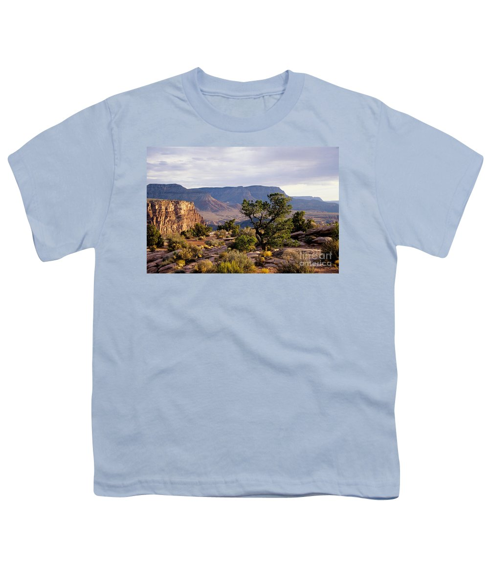 Arizona Youth T-Shirt featuring the photograph Toroweap by Kathy McClure