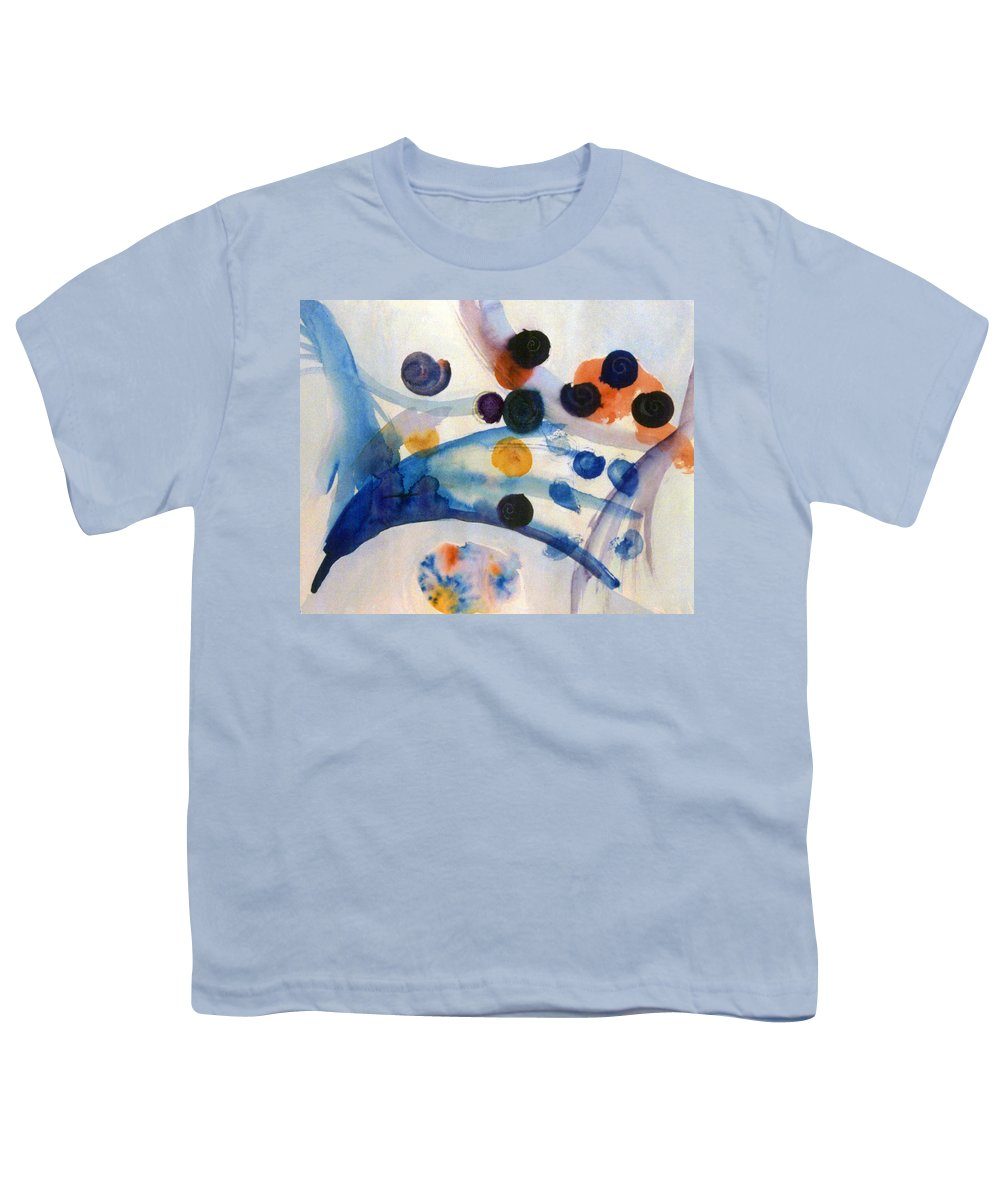 Abstract Youth T-Shirt featuring the painting Under The Sea by Steve Karol