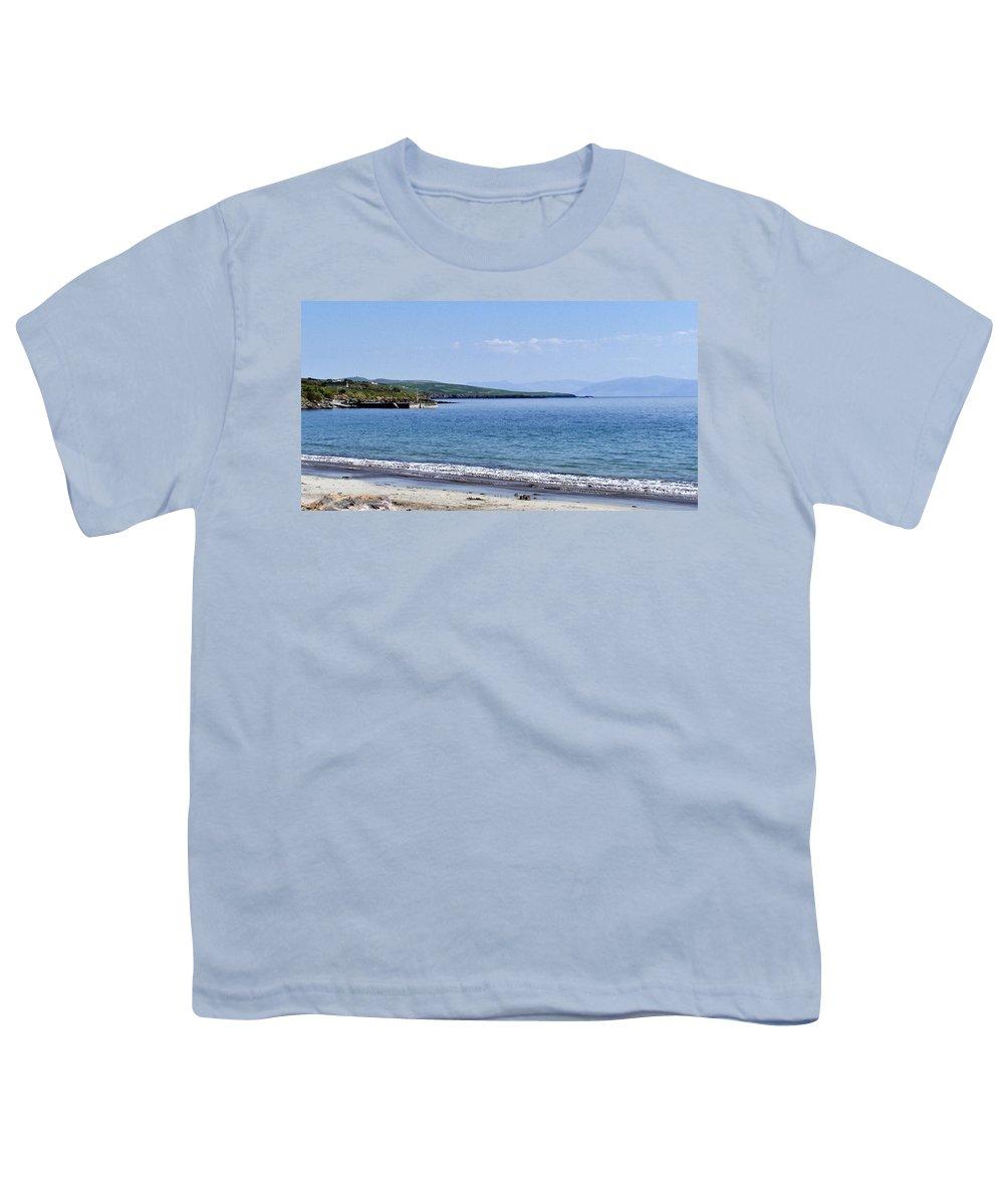 Irish Youth T-Shirt featuring the photograph Ventry Harbor On The Dingle Peninsula Ireland by Teresa Mucha