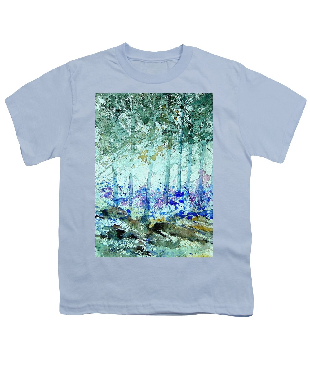 Tree Youth T-Shirt featuring the painting Watercolor 011105 by Pol Ledent