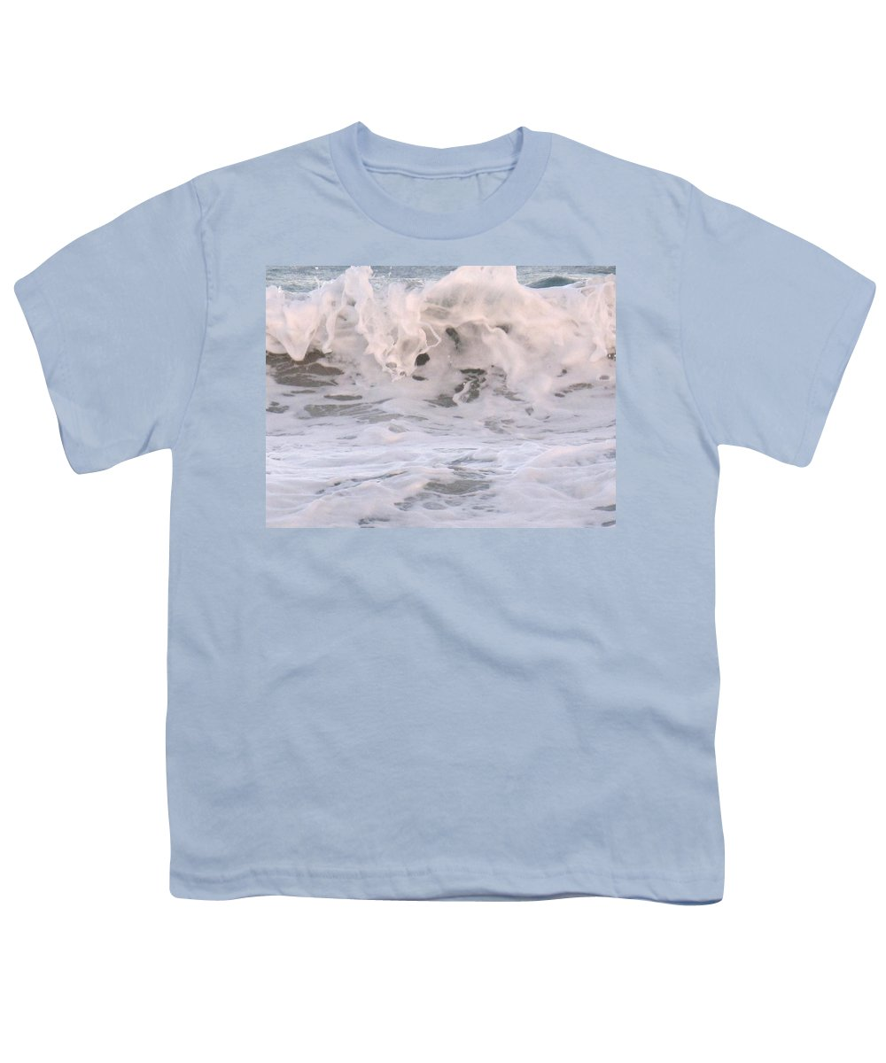 Surf Youth T-Shirt featuring the photograph Wild Surf by Ian MacDonald