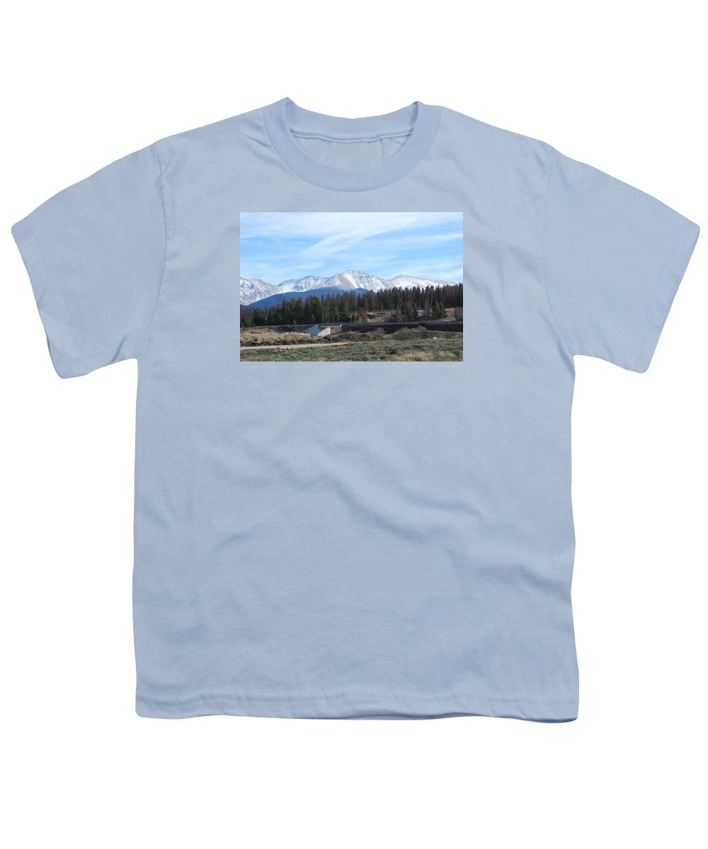 Colorado Youth T-Shirt featuring the photograph Winter Park Colorado by Margaret Fortunato