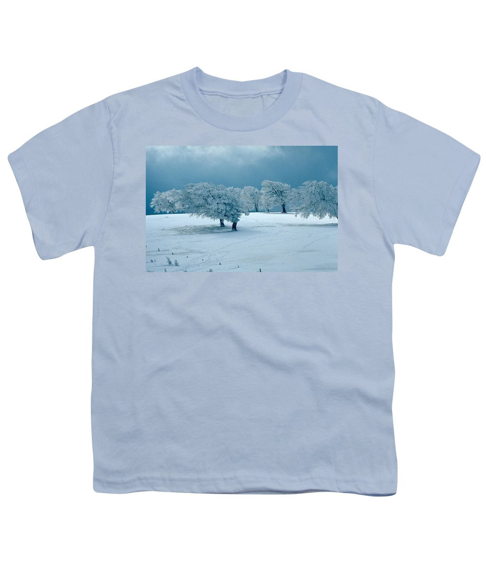Winter Youth T-Shirt featuring the photograph Winter Wonderland by Flavia Westerwelle
