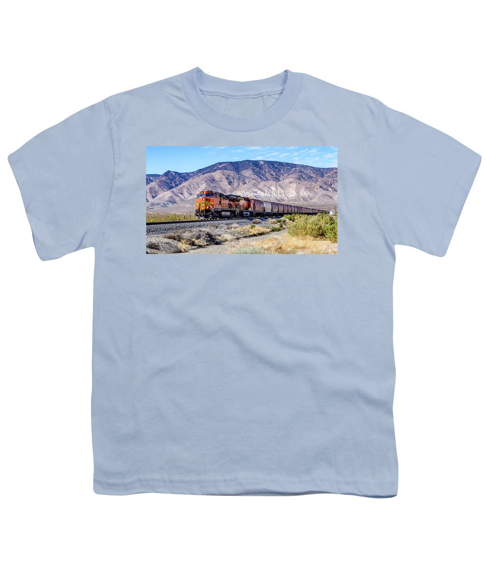 Bnsf5342 Youth T-Shirt featuring the photograph Bnsf5342 by Jim Thompson