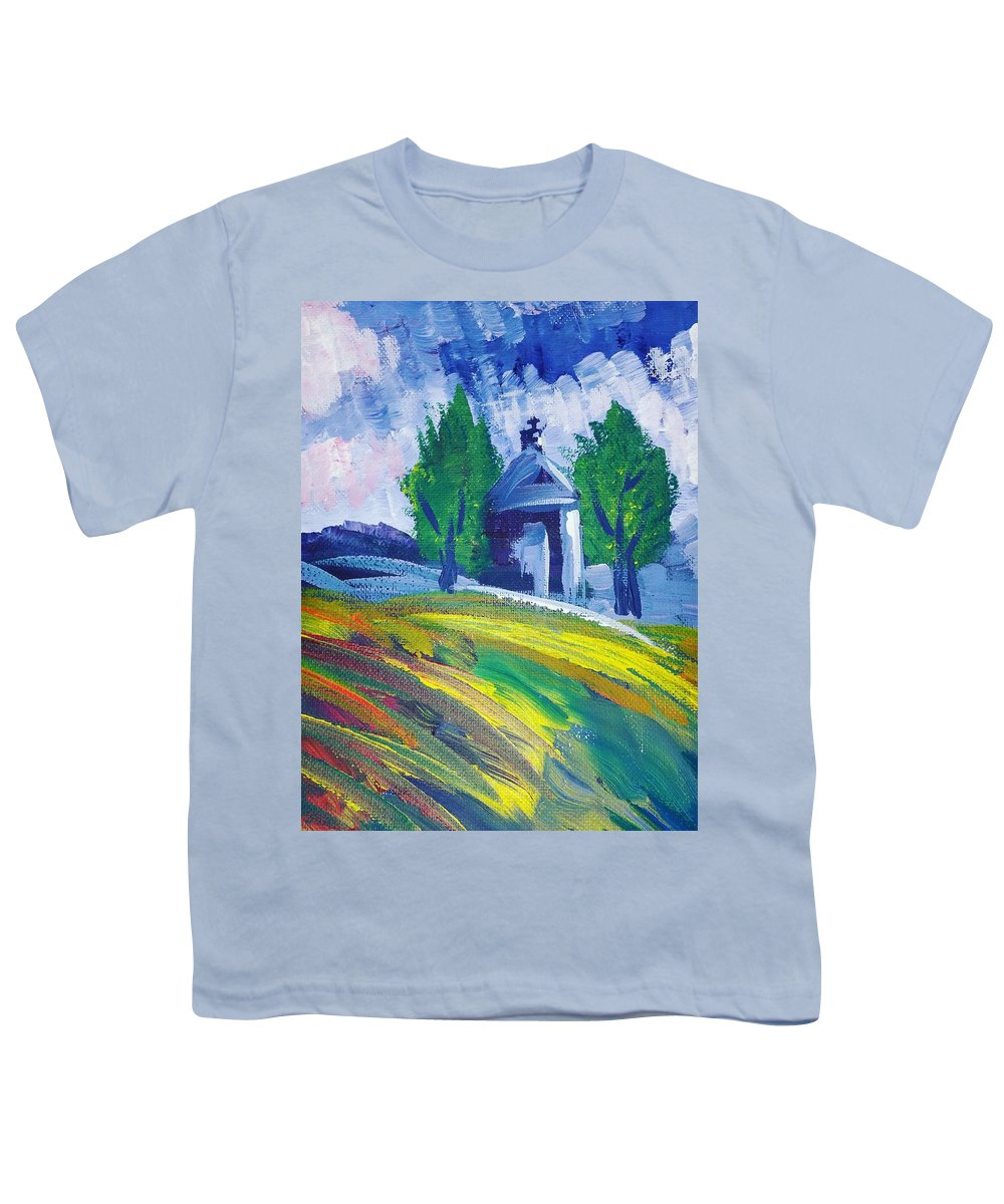Acrylic Youth T-Shirt featuring the painting Impression by Paola Baroni