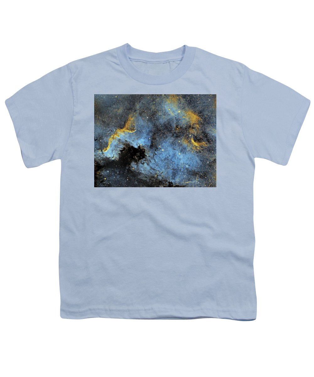 Nebula Youth T-Shirt featuring the photograph The North America Nebula by Prabhu Astrophotography