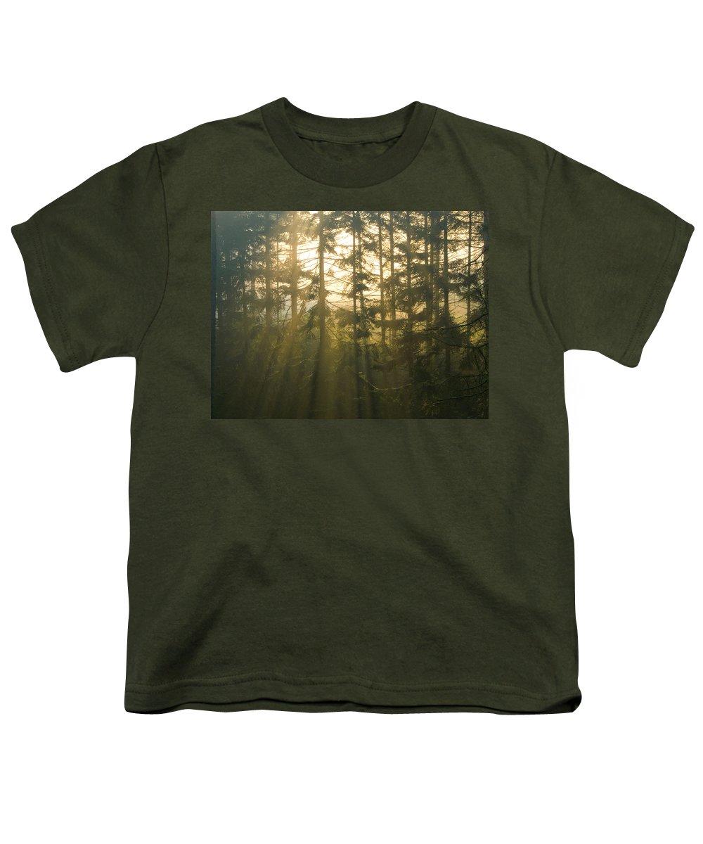 Light Youth T-Shirt featuring the photograph Awe by Daniel Csoka