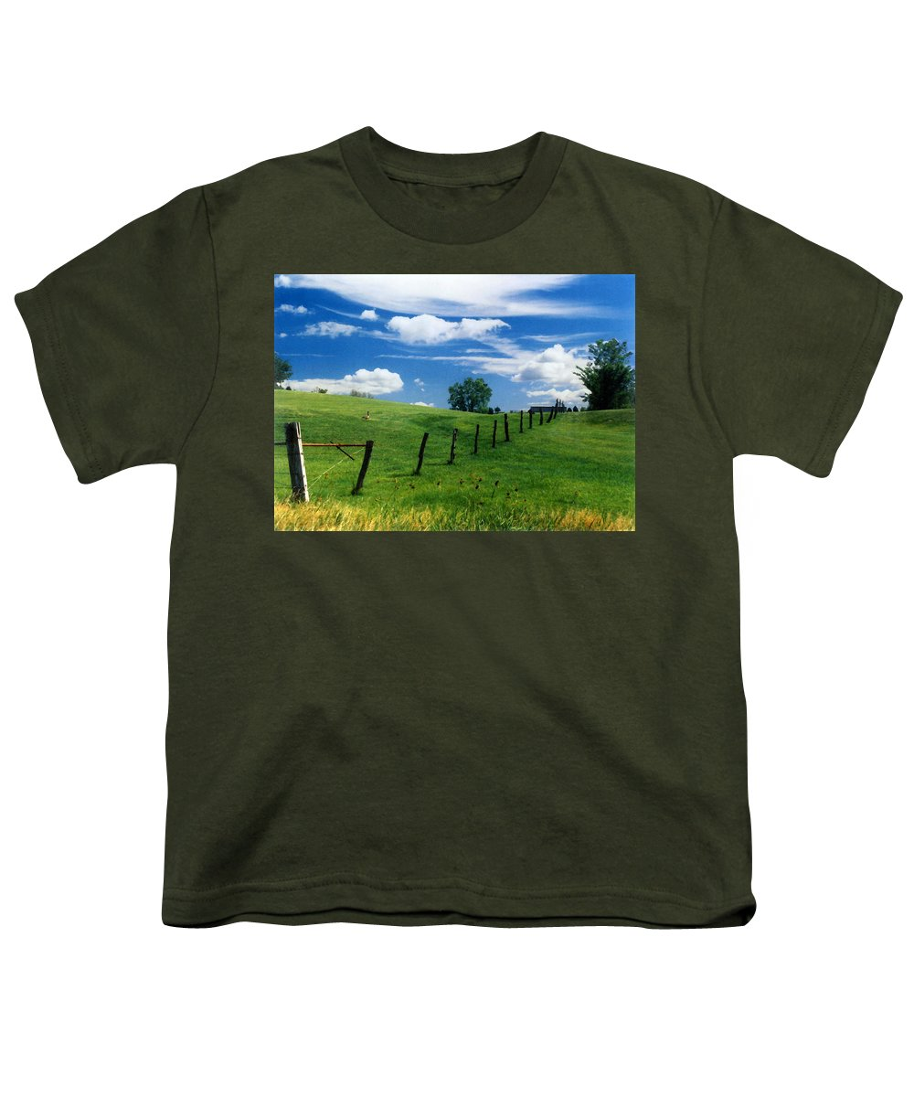 Summer Landscape Youth T-Shirt featuring the photograph Summer Landscape by Steve Karol