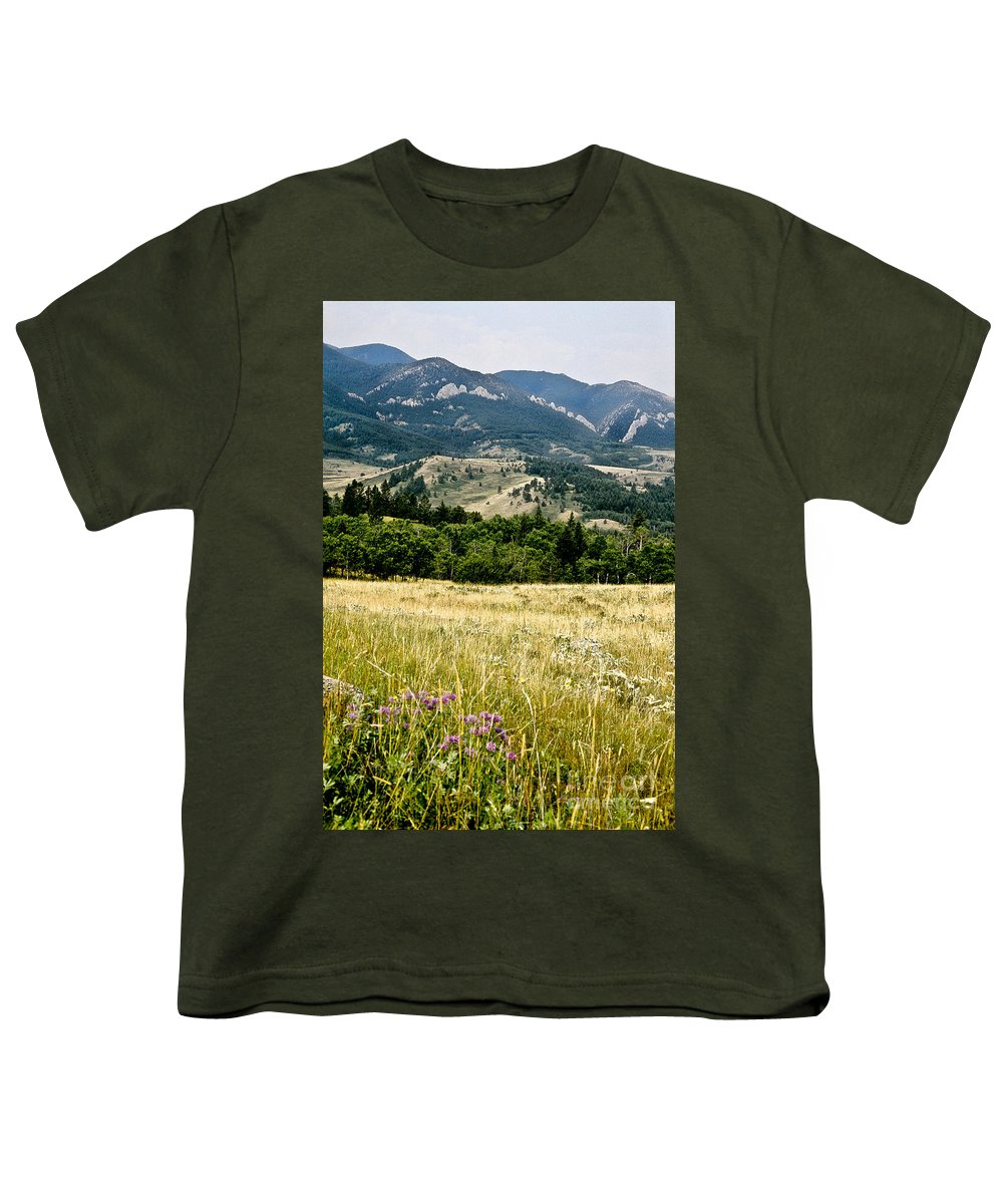 Wilderness Youth T-Shirt featuring the photograph Washake Wilderness by Kathy McClure