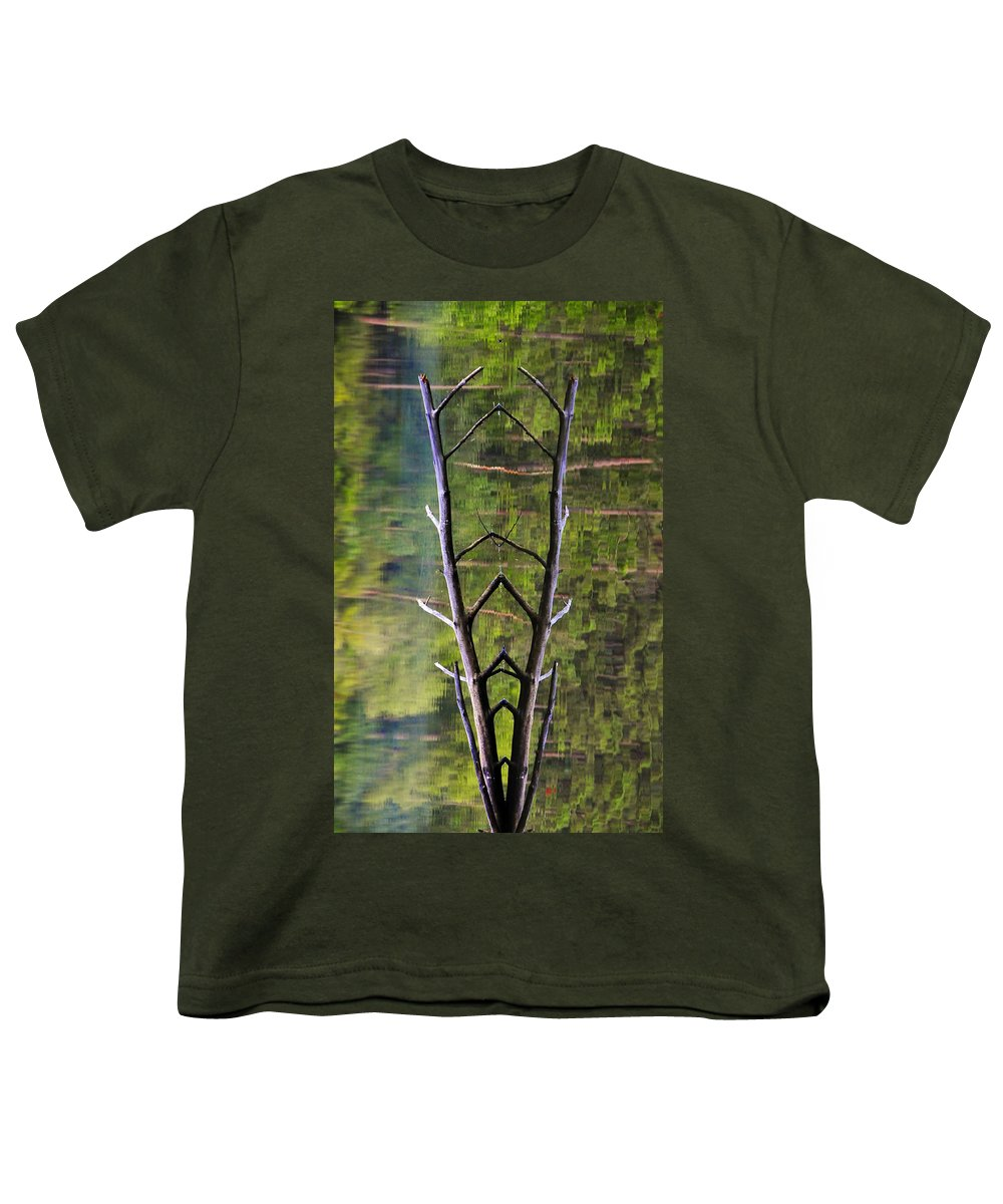 Photography Youth T-Shirt featuring the photograph Jacob's Ladder by Skip Hunt