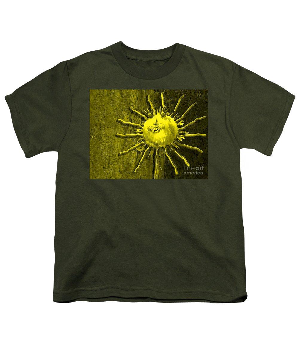 Sun Youth T-Shirt featuring the photograph Sun Tool by Debbi Granruth