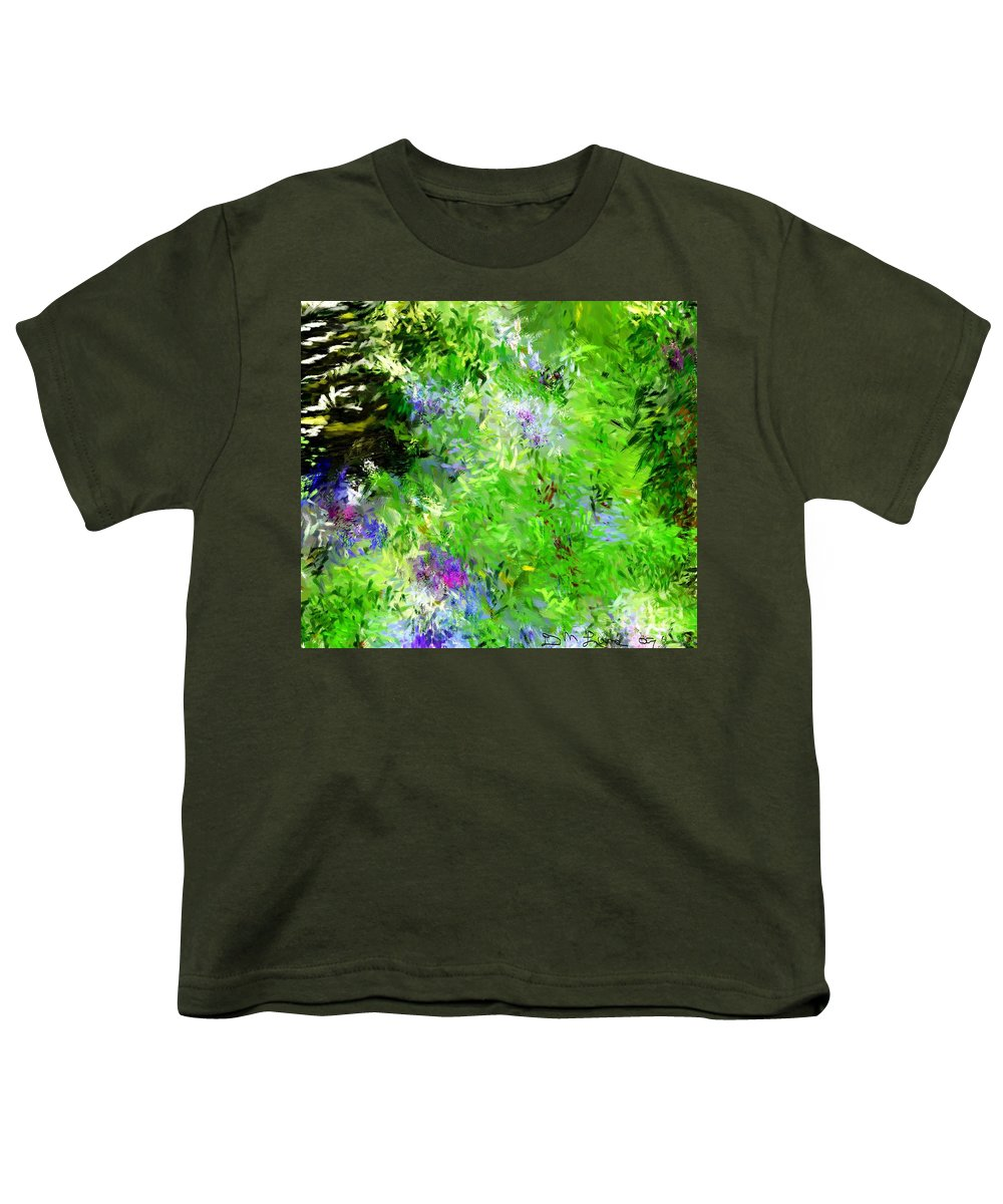 Abstract Youth T-Shirt featuring the digital art Abstract 5-26-09 by David Lane