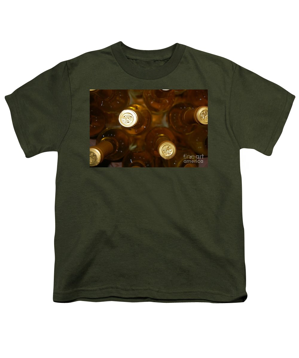 Wine Youth T-Shirt featuring the photograph Aged Well by Debbi Granruth