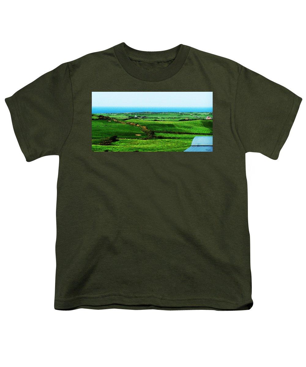 Ireland Youth T-Shirt featuring the photograph Atlantic View Doolin Ireland by Teresa Mucha