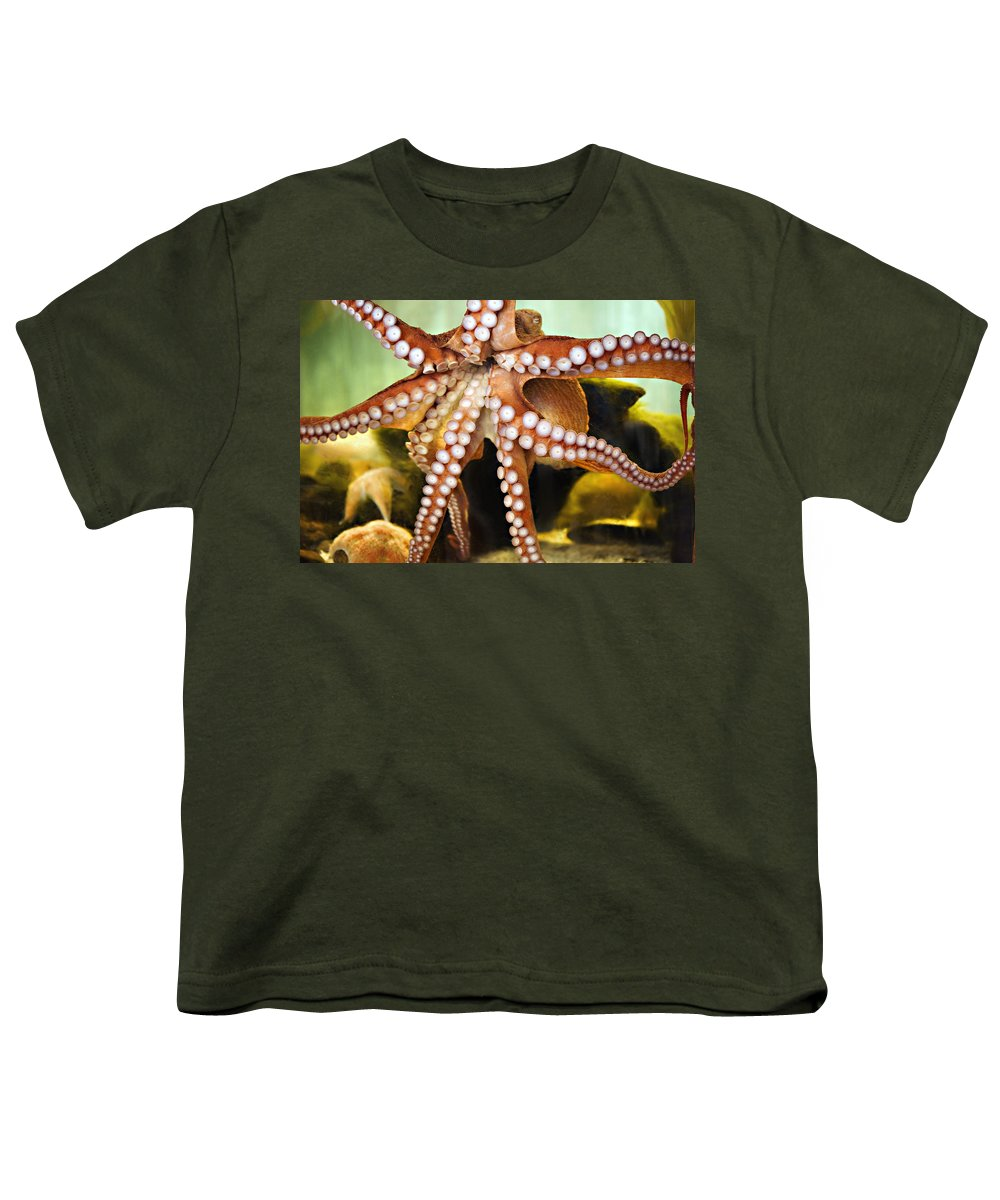 Octopus Youth T-Shirt featuring the photograph Beautiful Octopus by Marilyn Hunt