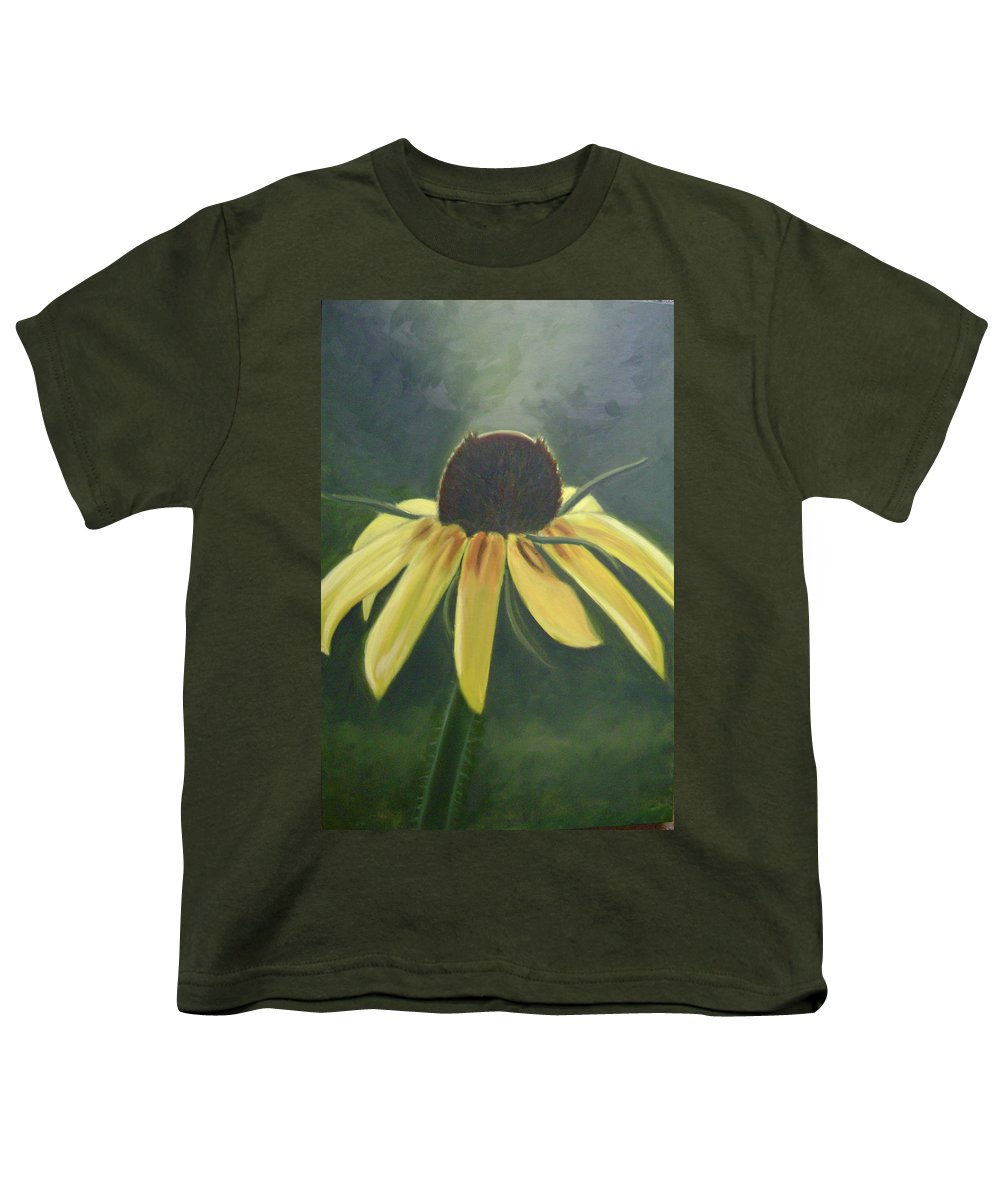 Flower Youth T-Shirt featuring the painting Black Eyed Susan by Toni Berry