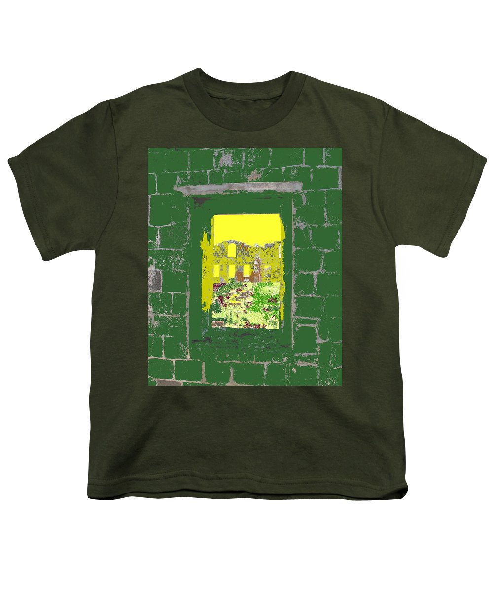 Brimstone Youth T-Shirt featuring the photograph Brimstone Window by Ian MacDonald