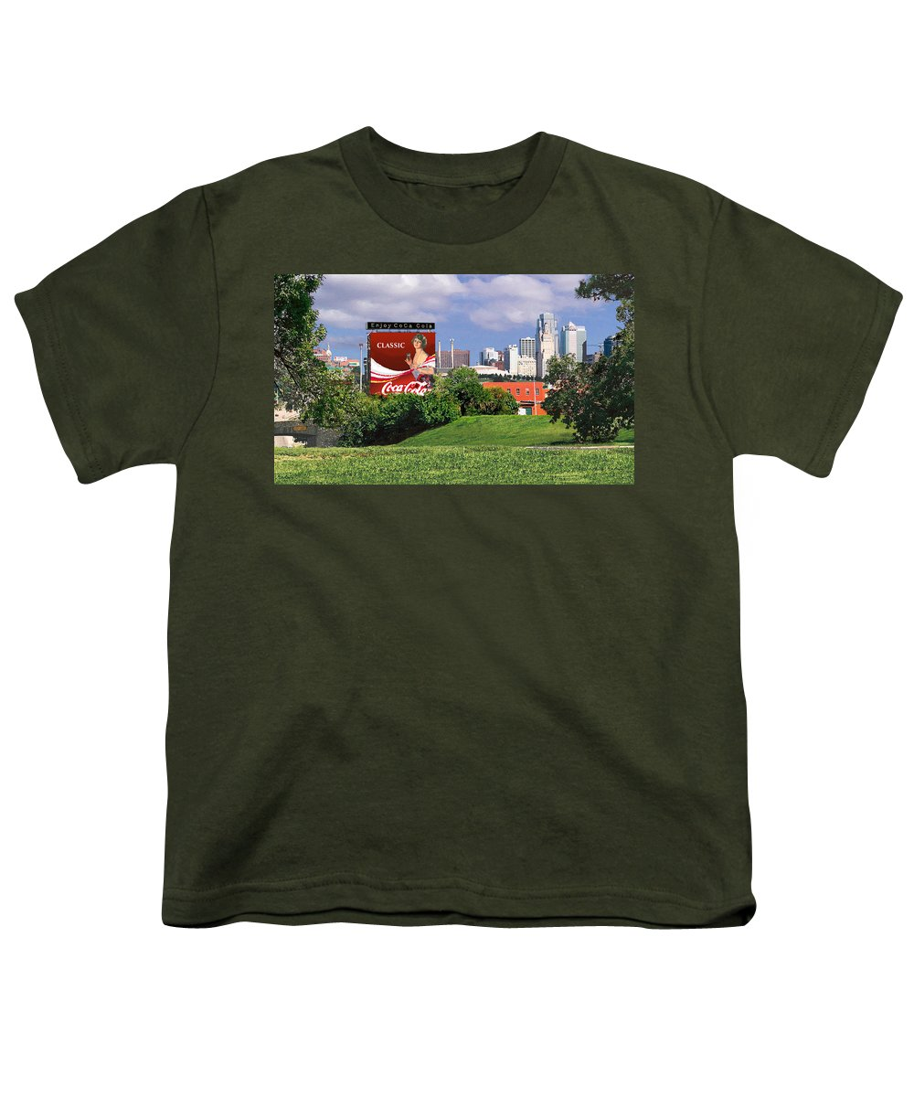 Landscape Youth T-Shirt featuring the photograph Classic Summer by Steve Karol